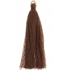 Poly Cotton Tassels (10pcs) 2.25in Brown